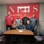 Rusche signs to play baseball at Taylor