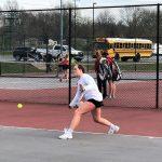 Tennis wins 4-1 at Beech Grove