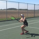 Tennis posts victory at Southwestern