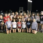 Girls track defends county title