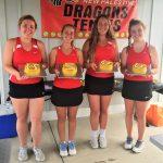 Tennis sweeps PH on Senior Day