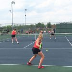 Tennis falls in sectional