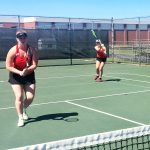 Cherry, King advance in tennis tourney
