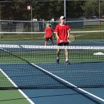 Boys tennis posts third straight sweep