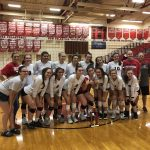 Volleyball wins New Palestine Invitational title