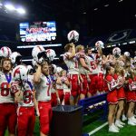 Won the day: Dragons claim second state title