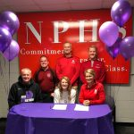 Harrison signs to play basketball at Taylor