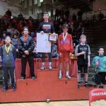Wrestlers finish third at Connersville