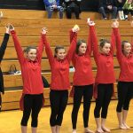 Gymnasts compete against Columbus North