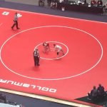 White falls at wrestling finals