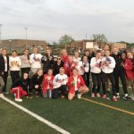 Girls track wins third straight HHC title