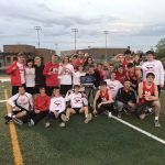Dragons use depth to take HHC boys track title