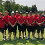 Boys golf places 10th in regional