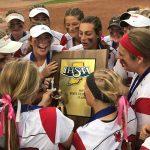 History: Dragons complete softball championship three-peat