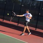 Tennis falls in sectional final, Blachly advances