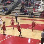 Girls basketball rallies fall short