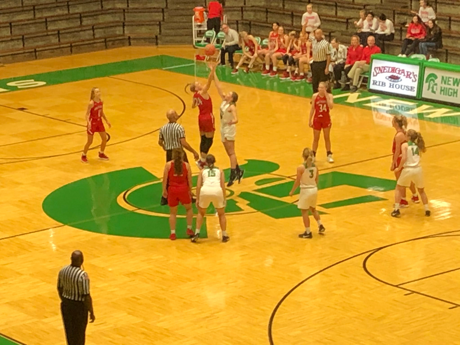 Strong start paces girls basketball victory