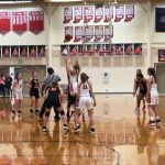 Girls basketball wins on senior night