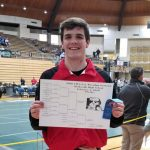 Clevenger wins sectional title, wrestlers advance seven