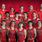 Boys basketball finishes regular season with victory
