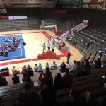 Gymnasts place second in sectional; Shanahan wins beam title