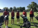 Golf competes at Lapel