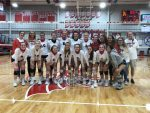 Volleyball competes against New Castle