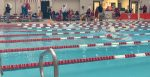Swimmers compete against FC
