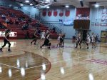 Girls basketball rally falls short
