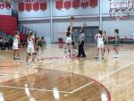 Girls basketball wins big in HHC opener