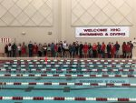 Swim teams sweep senior night