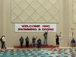 Girls swimmers finish fourth in HHC