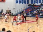 Boys basketball falls in final minute