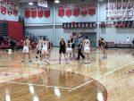 Girls basketball caps regular season with victory