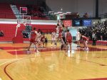 Boys basketball falls in sectional opener