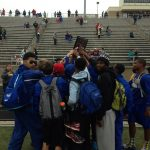 Boys Track Team Earns District Runner-Up