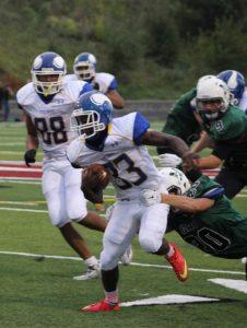 Varsity Football vs. Millard West, 8/27