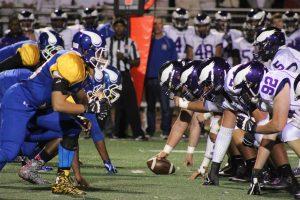 Varsity Football vs. Central, 10/2