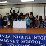 Girls Track & Field Receives Grant