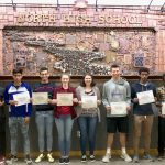 Spring Academic All State awards presented to North student-athletes