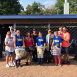Celebrating Softball Senior Night