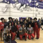 Girls Varsity Powerlifting finishes 3rd place at Girls Regional Meet (Anna High School)