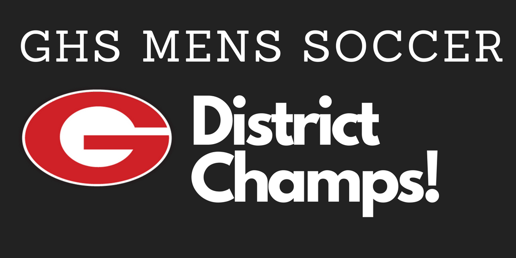 Mens Soccer Wins District!