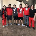 Boys Varsity Powerlifting finishes 17th place at Boys State Meet (Abilene)