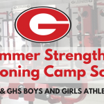 Summer Strength and Conditioning Camp