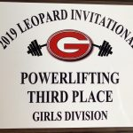 Girls Powerlifting Finishes 3rd place at Gainesville Leopards Powerlifting Meet