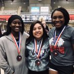 Lady Leopards compete well at State!