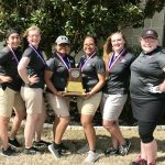 Lady Leopards Take 2nd at District Golf Tournament