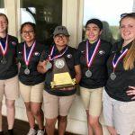 Lady Leopard Golfers Advance to Regional Tournament