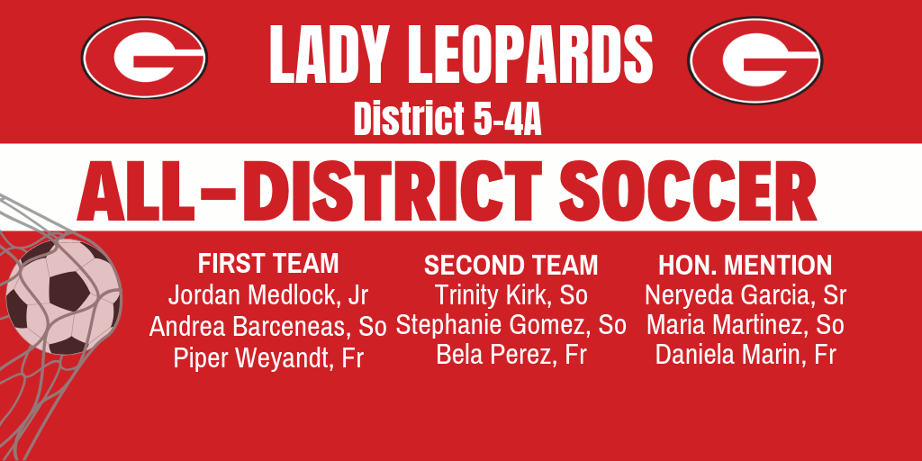 Soccer District Honors